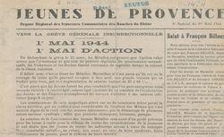 """Accéder à la page """"Jeunes de Provence"""""""
