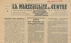 """Accéder à la page """"Marseillaise du Centre (La)"""""""