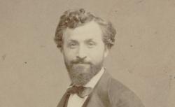 Gaetano Braga, photographie d'Etienne Carjat, 1865 - source : gallica.bnf.fr / BnF