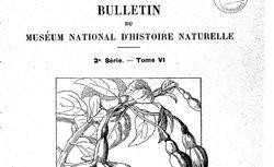 Bulletin du Muséum national d'histoire naturelle