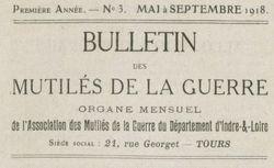 """Accéder à la page """"Bulletin des mutilés de la guerre"""""""