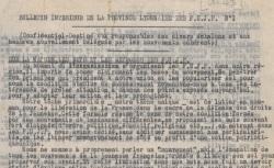 """Accéder à la page """"Bulletin intérieur de la province lyonnaise des FUJP (Forces unies de la jeunesse patriotique)"""""""