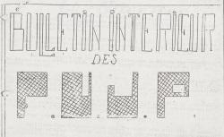 """Accéder à la page """"Bulletin intérieur des FUJP (Forces unies de la jeunesse patriotique) [zone sud]"""""""
