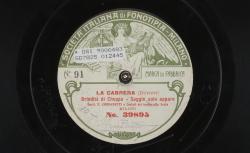 La cabrera. Saggio solo appare : brindisi di Cheppa ; Dupont, comp. ; F. Corradetti, BAR ; Coristi del teatro alla Scala - source : gallica.bnf.fr / BnF