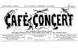 """Accéder à la page """"Café-concert (Le) """""""