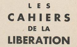 """Accéder à la page """"Cahiers de Libération (Les)"""""""