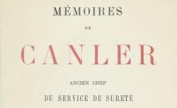 """Accéder à la page """"Canler, Mémoires"""""""