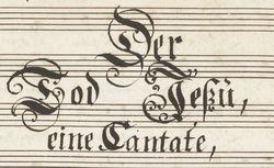 """Accéder à la page """"Cantate sacrée"""""""