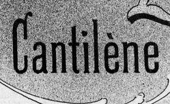 """Accéder à la page """"Cantilène"""""""