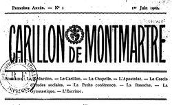 """Accéder à la page """"Carillon de Montmartre"""""""