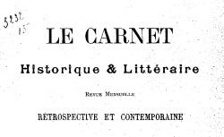 """Accéder à la page """"Saint-Simon, duc de, Carnet de campagne"""""""