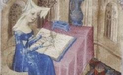 Figure de l'humanisme français: Christine de Pizan a rédigé des poèmes, des traités philosophiques, politiques, et militaires  Centballades_fr.835
