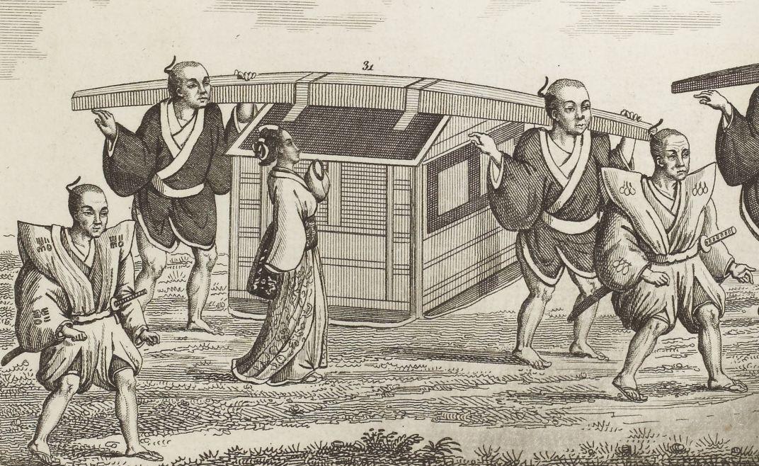IsaacTitsingh. Traducteur. Cérémonies usitées au Japon pour les mariages et les funérailles , suivies de détails sur la poudre Dosia, de la préface d'un livre de Confoutzée sur la piété filiale, 1819