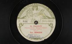 El Pajarito. Canción Española / Leopoldo Fregoli, comp. ; Leopoldo Fregoli, chant ; acc. au piano - source : gallica.bnf.fr / BnF