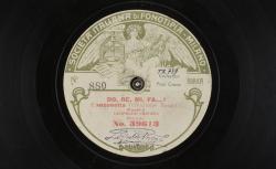 Do, ré, mi, fa... Canzonetta (Creazione Fregoli) / Leopoldo Fregoli, aut. ; Leopoldo Fregoli, chant - source : gallica.bnf.fr / BnF