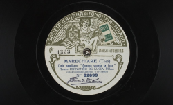 """Marechiare. Canto napolitano : """"Quanno sponta la luna"""" ; Tosti, comp. ; Fernando de Lucia, ténor ; acc. d'orchestre - source : gallica.bnf.fr / BnF"""