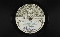 Chianiutedda mia : Canzone siciliana ; Graffeo, comp. ; Giuseppe Bellantoni, BAR ; acc. de piano - source : gallica.bnf.fr / BnF