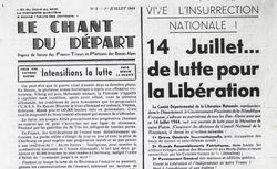 """Accéder à la page """"Chant du Départ (Le) (Basses-Alpes)"""""""