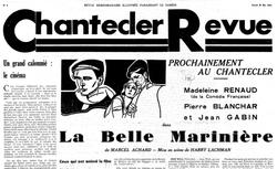 """Accéder à la page """"Chantecler revue"""""""