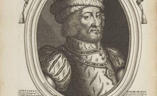 N. de Larmessin, Les augustes représentations de tous les rois de France, depuis Pharamond jusqu'à Louis XIV, 1690
