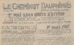 """Accéder à la page """"Cheminot dauphinois (Le)"""""""