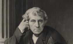 Luigi Cherubini, d'après Ingres, 1845