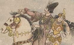 Le Cheval enchanté, illustré par Albert Robida, 1909