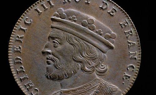 Jean Dassier (médailleur, 1676-1763), Histoire chronologique des rois de France.  Médaille 21