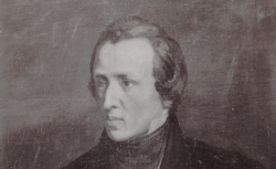 Frédéric Chopin, d'après le portrait d'Antoine Kolberg, 1930