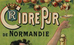 Cidre pur de Normandie. Rotrou frères (propriétaires du Perrier)... [affiche]
