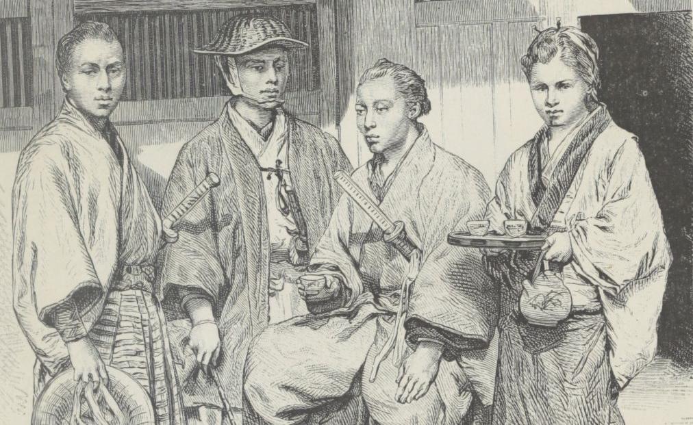 Élisée Reclus,  la Géographie universelle, T.7, Asie orientale, 1882.