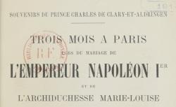 """Accéder à la page """"Clary-et-Aldringen, Charles de, Souvenirs"""""""