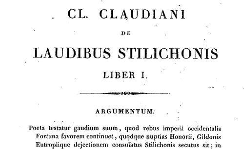 """Accéder à la page """"Claudien,"""