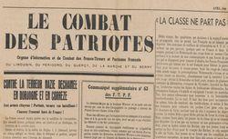 """Accéder à la page """"Combat des patriotes (Le) (Dordogne, Lozère)"""""""