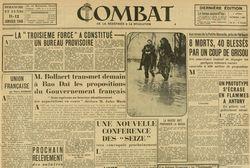 """Accéder à la page """"Combat"""""""