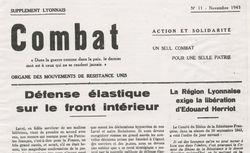 """Accéder à la page """"Combat (Lyon)"""""""