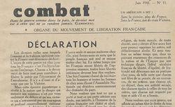 """Accéder à la page """"Combat (Paris)"""""""