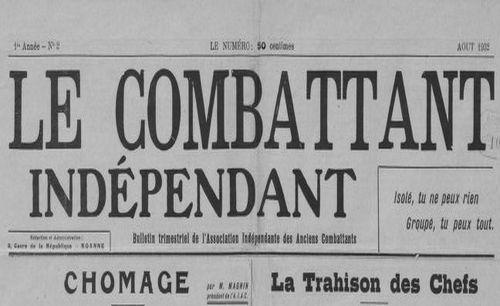 """Accéder à la page """"Combattant indépendant (Le)"""""""