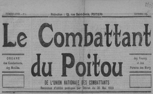 """Accéder à la page """"Combattant du Poitou (Le)"""""""