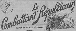 """Accéder à la page """"Combattant républicain (Le) (Auxerre)"""""""