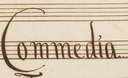 "Accéder à la page ""Commedia per musica"""