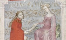 Figure de l'humanisme français: Christine de Pizan a rédigé des poèmes, des traités philosophiques, politiques, et militaires  Complainteamoureuse_fr.835
