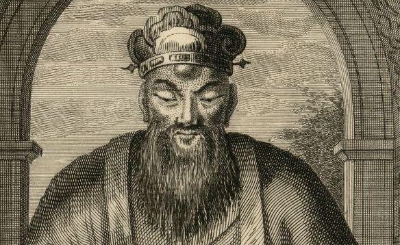 Confucius, le plus célèbre philosophe de la Chine