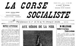 """Accéder à la page """"Corse socialiste (La)"""""""