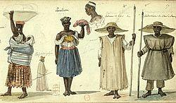 Costumes du Brésil / par Debret