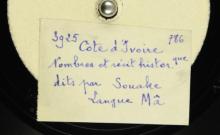"""Accéder à la page """"Nombres et récits historiques / Souake, voix."""""""