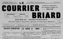 publication disponible de 1915 à 1922