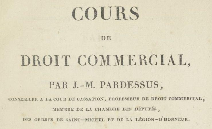 Pardessus, Jean-Marie (1772-1853)