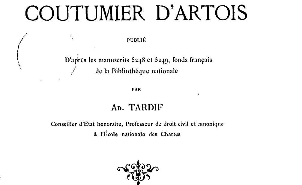 Tardif, Adolphe (1824-1890)