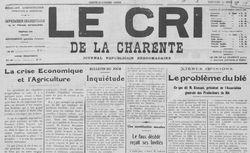 """Accéder à la page """"Cri de la Charente (Le)"""""""